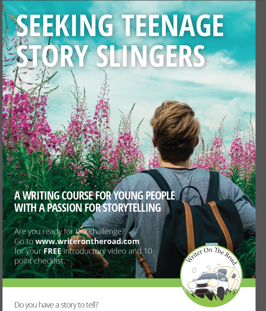 how to write growing up writing it s nearly time to launch my online teen novel writing course and i ve been challenged to offer the first 10 places at a 50% discount as a pre launch gift